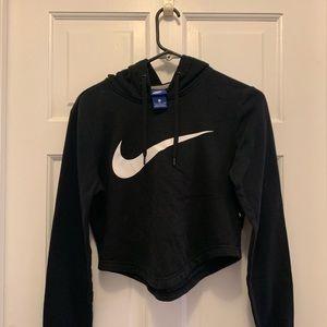 Black Nike Crop Sweater